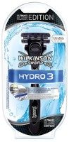 Wilkinson Hydro 3 Rasierer Ultimate black Edition Rasiergriff + 1 Klinge